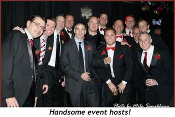 Blog 1 - Handsome event hosts