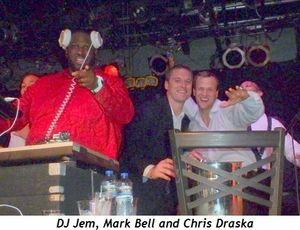 Blog 14 - DJ Jem, Mark Bell, Chris Draska
