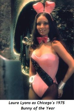 Blog 5 - Laura Lyons as Chicago's 1975 Bunny of the Year