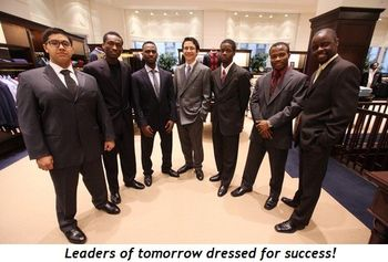 Blog 3 - Leaders of tomorrow dressed for success!
