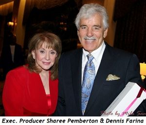 Blog 1 - Executive Producer Sharee Pemberton and Dennis Farina