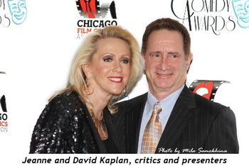 Jeanne and David Kaplan, critics and presenters