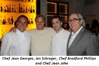 Blog 2 - Chef Jean Georges, Ian Schrager, Chef Bradford Phillips and Chef Jean Joho