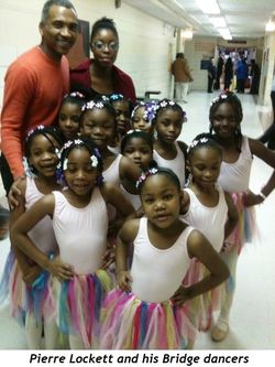 Blog 1 - Pierre Lockett and his Bridge dancers