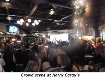 Blog 9 - Crowd scene at Harry Caray's