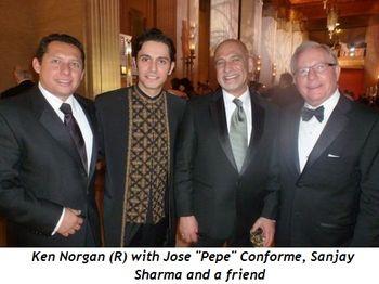 "Blog 9 - Jose ""Pepe"" Conforme, Sanjay Sharma, Ken (R) and friend"