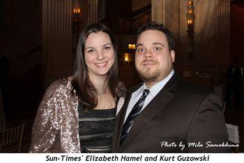Blog 11 - Sun-Times Elizabeth Hamel and Kurt Guzowski