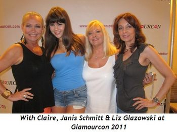 Blog 4 - With Claire, Janis Schmitt and Liz Glazowski at Glamourcon 2011