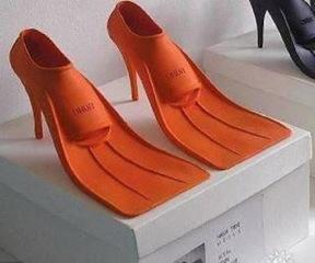 Flipper heels