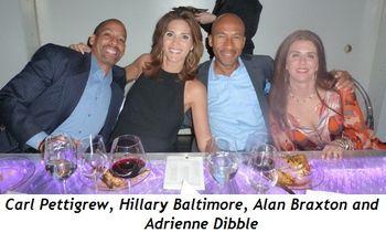 Carl Pettigrew, Hillary Baltimore, Alan Braxton and Adriene Dibble