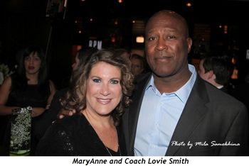 Blog 5 - MaryAnne and Coach Lovie Smith