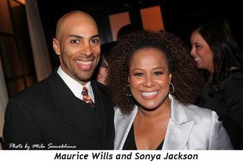 Blog 16 - Maurice Wills and Sonya Jackson