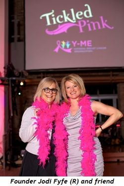 Blog 2 - Founder Jodi Fyfe (R) and friend