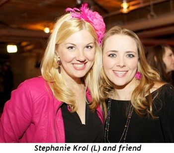 Blog 3 - Stephanie Krol (L) and friend
