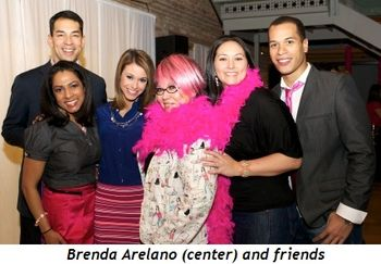 Blog 8 - Brenda Arelano (center) with friends