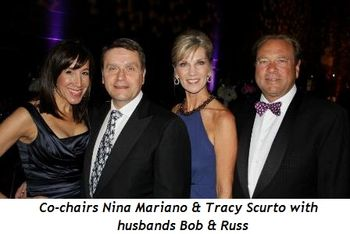 Blog 1 - Co-chairs Nina Mariano and Tracy Scurto with husbands Bob and Russ