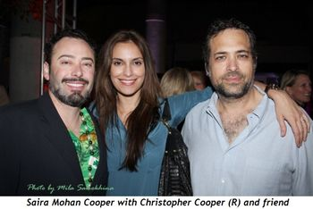 Blog 4 - Saira Mohan and Christoper Cooper (R) with friend