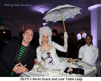 Blog 5 - HGTV's Kevin Grace and cute Table Lady