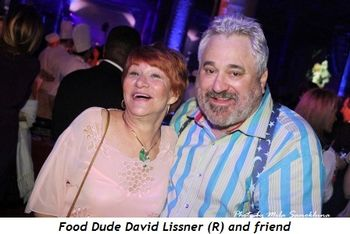 Blog 16 - Food Dude David Lissner (R) and friend