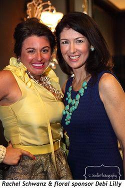 Blog 2 - Rachel Schwanz and floral sponsor, Debi Lilly
