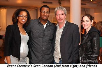 Blog 6 - Event Creative's Sean Cannon (2nd from R) and friends