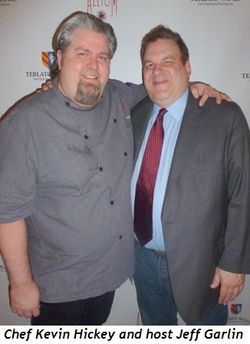 Blog 6 - Chef Kevin Hickey and host Jeff Garlin