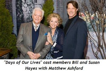 Blog 1 - Days of Our Lives cast Bill and Susan Hayes, Matthew Ashford
