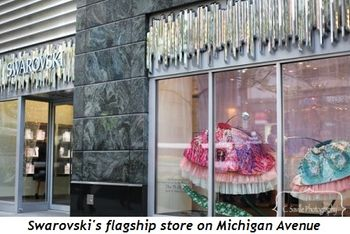 Blog 1 - Swarovski's flagship store on Michigan Ave