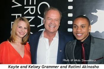 Blog 2 - Kayte and Kelsey Grammer and Rotimi Akinosho