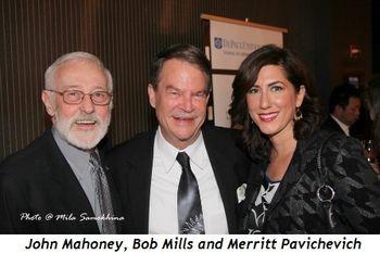Blog 10 - John Mahoney, Bob Mills and Merritt Pavichevich