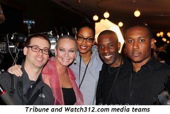 Blog 14 - Tribune and Watch312.com media teams