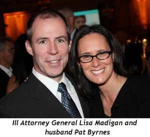 Blog 6 - Ill. Attorney General Lisa Madigan and husband Pat Byrnes
