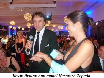 Blog 3 - Kevin Nealon and model Veronica Zepeda