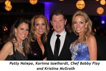 Blog 6 - Patty Nalepa, Korinna Isselhardt, Chef Bobby Flay and Kristina McGrath