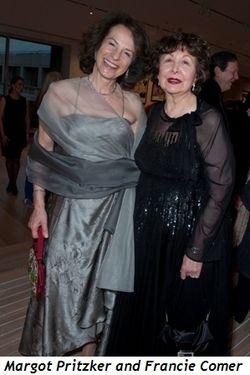 Blog 2 - Margot Pritzker and WB President Francie Comer