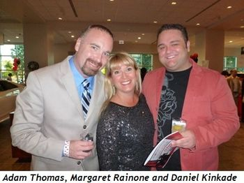 Blog 5 - Margaret Rainone, Daniel Kinkade (R) and friend