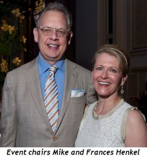 Blog 1 - Event chairs Mike and Frances Henkel