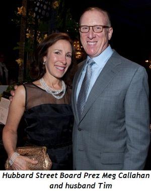 Blog 4 - Hubbard St. Board Prez Meg Callahan and husband Tim