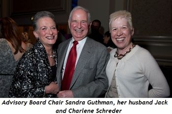 Blog 5 - Advisory Board Chair Sandra Guthman, her husband Jack and Charlene Schreder