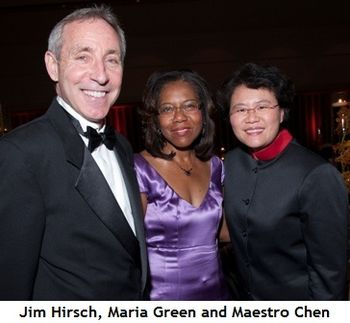 Blog 2 - Jim Hirsch, Maria Green, Maestro Chen