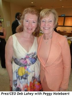 Blog 1 - Prez-CEO Deb Lahey and Peggy Notebaert