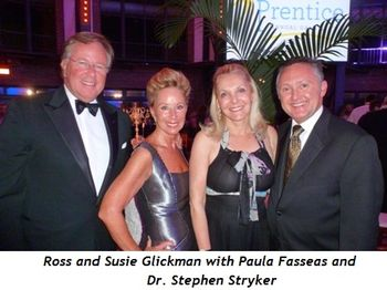 Blog 4 - Ross and Suzie Glickman, Paula Fasseas and Dr. Steven Stryker