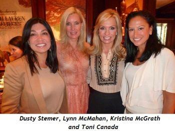 Blog 3 - Dusty Stemer, Lynn McMahan, Kristina McGrath and Toni Canada