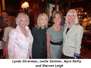Blog 4 - Lynda Silverman, Leslie Zentner, Myra Reilly and Sherren Leigh