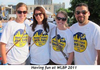 Blog 2 - Having fun at WLBP 2011