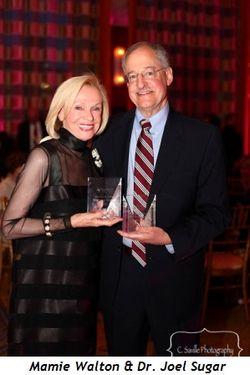 Blog 1 - Honorees Mamie Walton and Dr. Joel Sugar