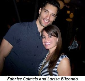 Blog 9 - Fabrice Calmels and Larisa Elizondo