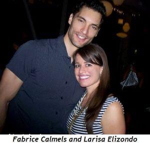 Blog 9 - Fabrice Calmels and Larisa Elizondo