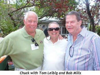 Blog 2 - Chuck with Tom Leibig and Bob Mills