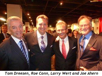 Blog 1 - Tom Dreesen, Roe Conn, Larry Wert and Joe Ahern